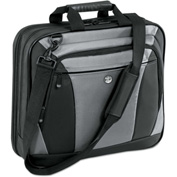 "Targus® CityLite Laptop Case 15.6"", 13-1/2 x  4-6/10 x 17-1/2, Black/Gray"