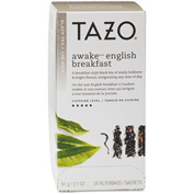 Tazo® Tea Bags, Awake, 24/Box