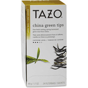 Tazo® Tea Bags, China Green Tips, 24/Box