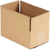 "General Supply Fixed Depth Shipping Boxes, Brown Corrugated, 10""L x 6""W x 4""H, 25/BUNDLE"