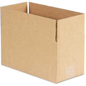 """General Supply Fixed Depth Shipping Boxes, Brown Corrugated, 12""""L x 6""""W x 6""""H, 25/BUNDLE"""