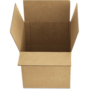 "General Supply Fixed Depth Shipping Boxes, Brown Corrugated, 12""L x 9""W x 6""H, 25/BUNDLE"