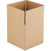 "General Supply Fixed Depth Shipping Boxes, Brown Corrugated, 14""L x 14""W x 14""H, 25/BUNDLE"