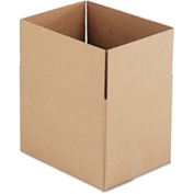 "General Supply Fixed Depth Shipping Boxes, Brown Corrugated, 16""L x 12""W x 12""H, 25/BUNDLE"