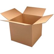 "General Supply Double Wall Shipping Boxes, Corrugated Kraft, 16""L x 16""W x 16""H, 15/BUNDLE"