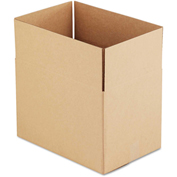"General Supply Fixed Depth Shipping Boxes, Brown Corrugated, 18""L x 12""W x 12""H, 25/BUNDLE"