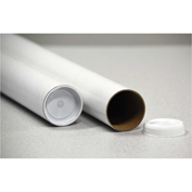"General Supply Round Mailing Tubes, 15""L x 3"" Dia., Brown Kraft, 25/PACK"