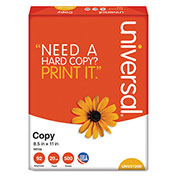 Copy Paper – Universal® UNV91200 – White - 8-1/2 x 11 - 20 lb. - 5000 Sheets/Carton