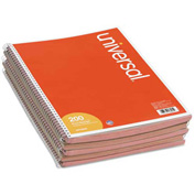 Universal® Wirebound Message Books, 3-3/16 x 5 1/2, Two-Part Carbonless, 200-Set Book