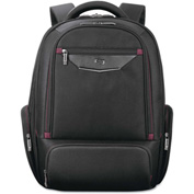 """SOLO® Executive Laptop Backpack, 17.3"""", 13 3/4 x 7 x 19 1/2, Black"""