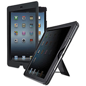SOLO® Privacy Screen Case for iPad Air, Black