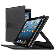 SOLO® Storm Universal Fit Tablet/eReader Case, Polyester Fabric, Tablets Up to 8.3""