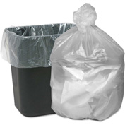 Good 'n Tuff® HD Waste Can Liners 7-10 Gallon 0.20 Mil, Natural 1000 Bags Bags/Box - WBIGNT2424