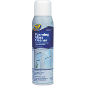 Zep® Commercial Foaming Glass Cleaner, 19oz Aerosol 1/Case - ZPEZUFGC19