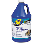 Zep® Commercial Multi-Surface Floor Cleaner Pleasant Scent, Gallon Bottle 1/Case - ZPEZUNEUT128