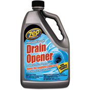 Zep® Commercial Professional Strength Drain Opener, Gallon Bottle 1/Case - ZPEZUPRDO128