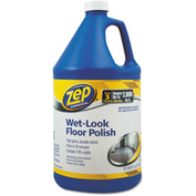 Zep® Commercial Wet Look Floor Polish, Gallon Bottle 1/Case - ZPEZUWLFF128