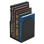 Magnetic Bookends, 6w x5D x7h, Black