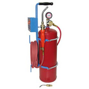 Uniweld 89602 - Air/Acetylene Twister® Kit (Quick Connect) - RB Regulator (w/ Stand & Tank)