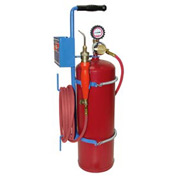 Uniweld 89621 - Air/Acetylene Twister® Kit (Quick Connect) - RB Regulator (w/ Stand & Tank)