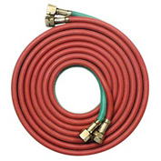 "12.5' Oxyacetylene Twin Hose - 9/16"" (B) Connection - Pkg Qty 2"