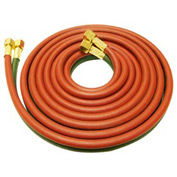 "12.5' Oxy/Lp Gas Grade ""T"" Twin Hose - 9/16"" (B) Connection - Pkg Qty 2"