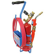 Uniweld KT2A5MCT - Air/Acetylene Twister® 2 Kit (Quick Connect) - RMC Regulator (w/ Stand/Tank)