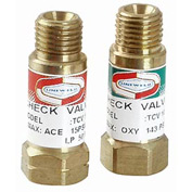 "Set Of Welding Handle Check Valves - 3/8"" (A) Fitting - Pkg Qty 2"