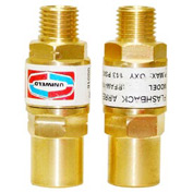 "Set of Torch Flashback Arrestors - 3/8"" (A) Fitting"