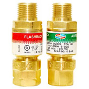 "Set of Torch Flashback Arrestors - 9/16"" (B) Fitting"