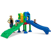 UltraPlay® Discovery Center 1 Deck Play Structure w/ Ground Spike