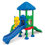 UltraPlay® Discovery Center 2 Deck Play Structure w/ Ground Spike