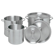 Heavy 20 Quart Aluminum Stock Pot