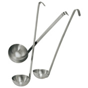 Update Int. 1 Ounce Heavy Duty Two - Piece Ladle - Pkg Qty 12