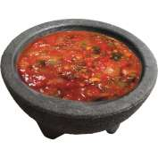 "Update International Molcajetes, 10 Oz., 5-1/6""Dia. x 2-1/2""H, Polypropylene Plastic, MOL-10 - Pkg Qty 4"
