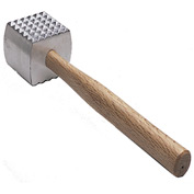 Update Int. Wood Handle Meat Tenderizer - Pkg Qty 12