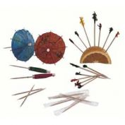 """Update International Cellophane Wrapped Toothpick, 2-1/2""""L, 1000/Box, PC-CW - Pkg Qty 10"""