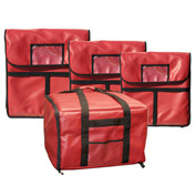 """Update Int. Insulated Pizza Delivery Bag - 24"""" - Pkg Qty 6"""