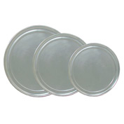 "Update Int. 8"" Wide Rim Pizza Tray - Pkg Qty 12"