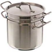 Update International SuperSteel™ Double Boiler, 12 Qt., SDB-12 - Pkg Qty 6