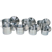 8 Quart Stainless Steel Stock Pot - Pkg Qty 6