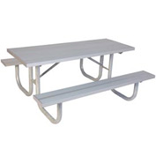 "6' Extra Heavy Duty Table, Aluminum 72""L x 68""W"