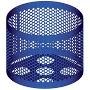 Round UltraCoat Outdoor Planter, Perforated - Blue