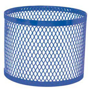 Round UltraCoat Outdoor Planter, Diamond - Blue