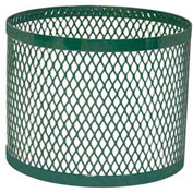 Round UltraCoat Outdoor Planter, Diamond - Green