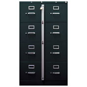 ABUS File Cabinet Locking Bar 3 Drawer 07030 - Pkg Qty 10