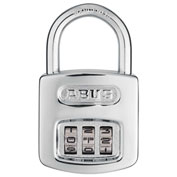 "ABUS Steel Resettable 3-Dial Combination Padlock 160/40 C 1/2"" - Pkg Qty 6"