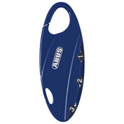 ABUS Bakpac™ 3-Digit Combination Padlock 151/20 Blue - Pkg Qty 6