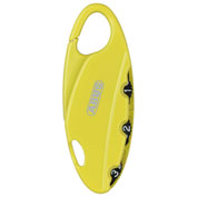 ABUS Bakpac™ 3-Digit Combination Padlock 151/20 Yellow - Pkg Qty 6