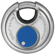 ABUS All Weather Steel Diskus Padlock 24IB/60 KD Keyed Different - Pkg Qty 3